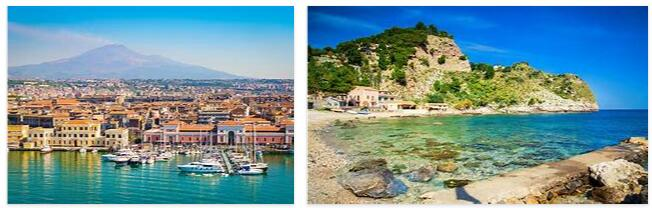Attractions near Palermo, Sicily, Italy