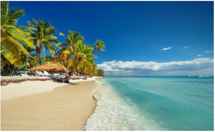 Dream beach in the Dominican Republic