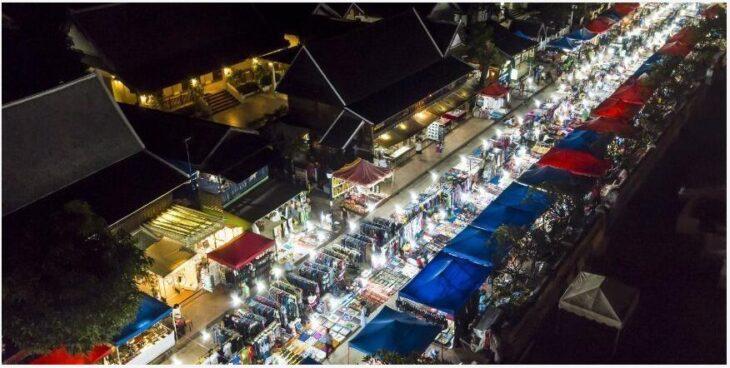 Luang Prabang Night Market, Luang Prabang