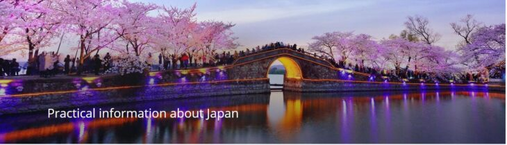 Practical information about Japan